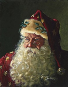 Portrait of Father Christmas by Dean Morissete 234x300 Wishing all of our Customers a very Happy Christmas!