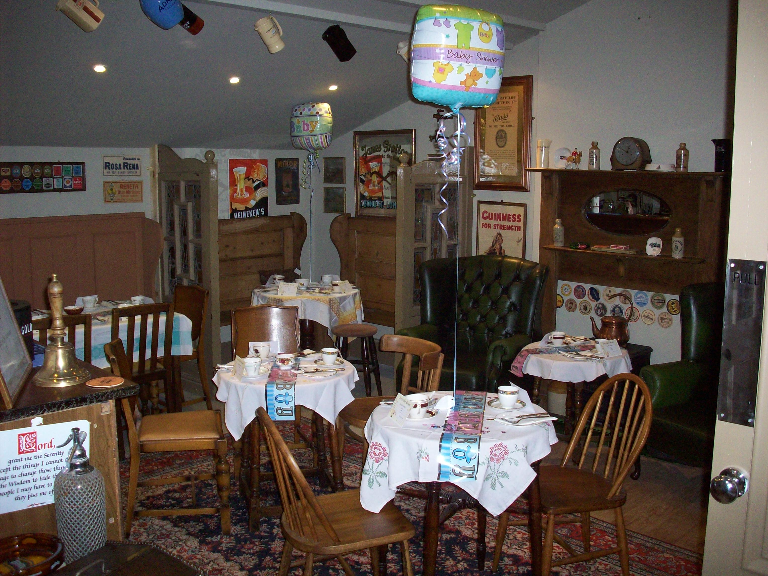 baby shower in the langtry bar harleston cornucopia