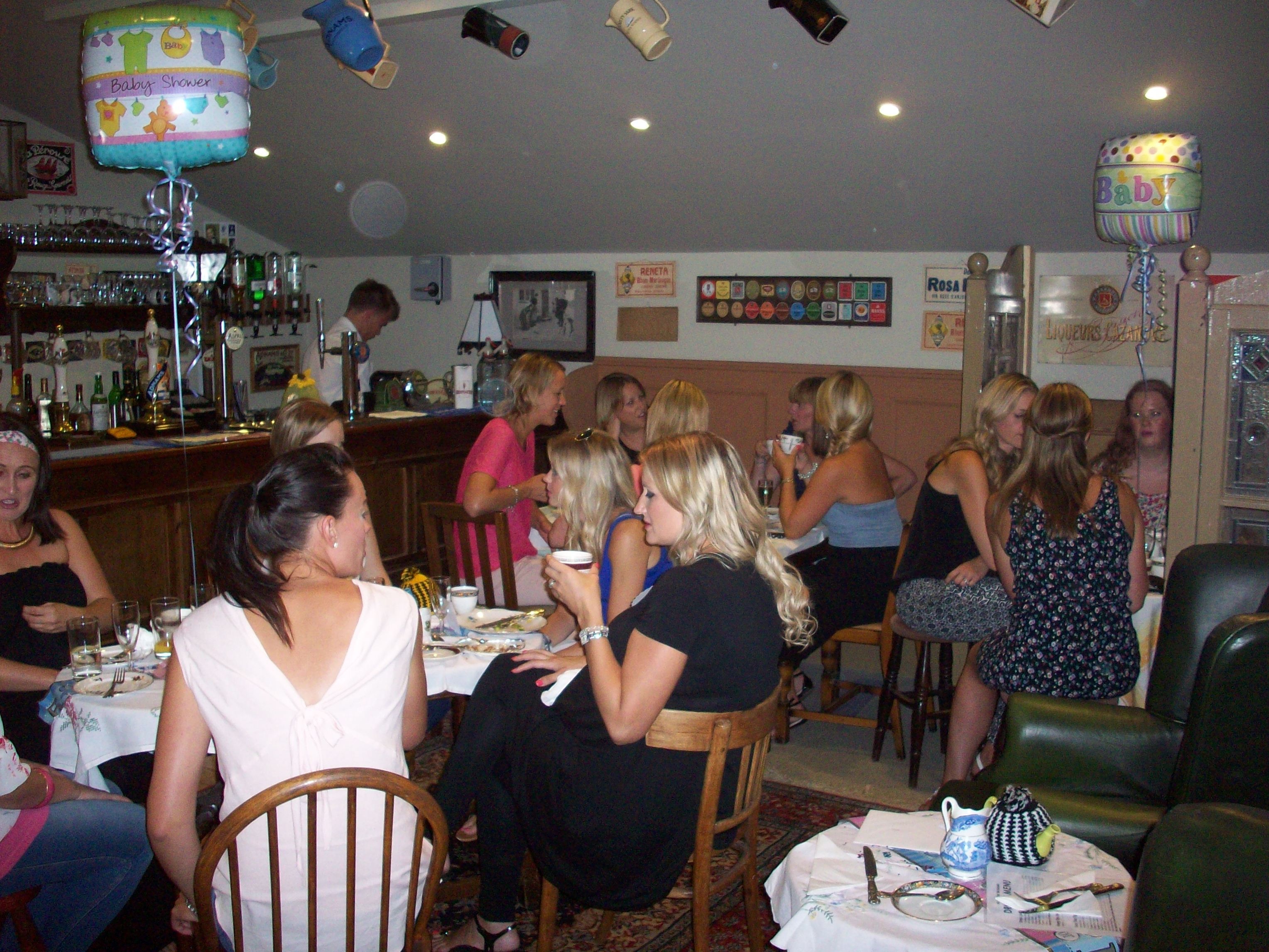 Baby Showers Norwich ~ Baby shower in the langtry bar harleston cornucopia