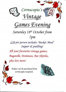 Vintage Games Evening 218x300 Last few tickets left!!