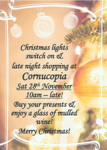 Scan0004 3 215x300 A date for your diary at Cornucopia!