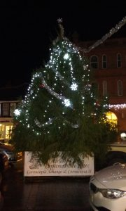 Christmas tree lit e1481197251252 180x300 Harleston Christmas Lights Switch On 2016!