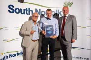 Retail Awards 3 300x200 Cornucopia are winners at the South Norfolk Independent Retailer Awards 2017!