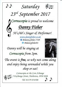 Danny Fisher 216x300 This Saturday 23rd September!