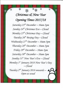 Christmas Opening Times 2017 216x300 Cornucopia opening times for Christmas and new year