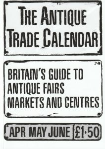 ATC 212x300 The Antique Trade Calendar April   June 2019