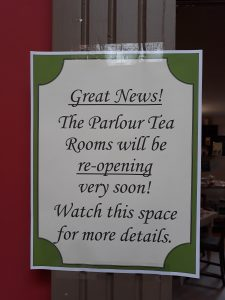 Tea Room re open e1565616722530 225x300 Great News!
