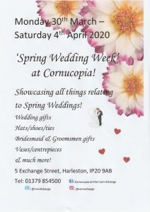 Spring Wedding Poster 212x300 Date for your diary!